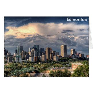 Skyline Edmontons, Kanada Karte