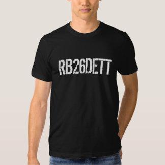 Skyline GT-r RB26DETT Motor-Code Tshirts