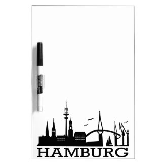 Skyline Hamburg Memoboards