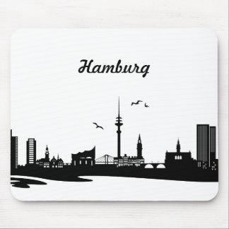 Skyline Hamburg Mousepad