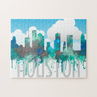 Skyline Houstons, Texas - SG-Dschungel Puzzle