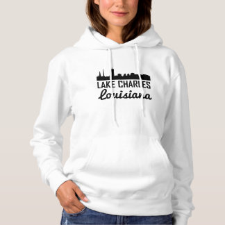 Skyline Lake Charles Louisiana Hoodie