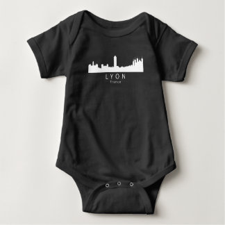 Skyline Lyons Frankreich Baby Strampler