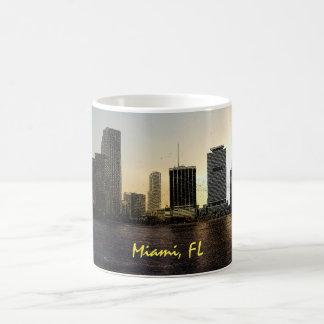 Skyline Miamis, Florida Kaffeetasse