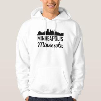 Skyline Minneapolis Minnesota Hoodie