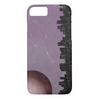 Skyline: Moonscape Freude - Geräten-Fall iPhone 8/7 Hülle