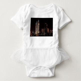 Skyline Mumbais Indien Baby Strampler