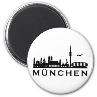 Skyline München Kühlschrankmagnete