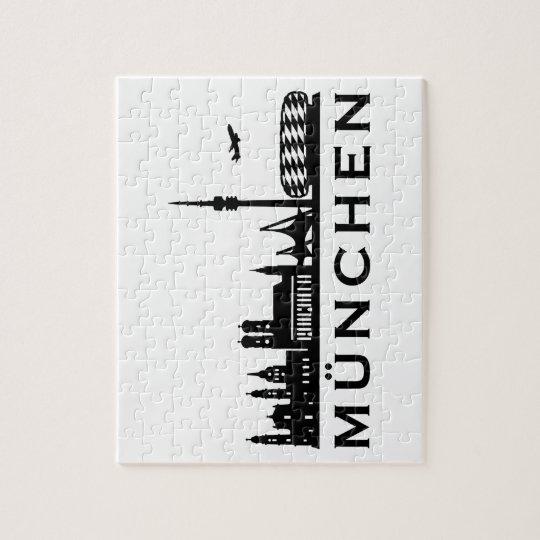 Skyline München Puzzle