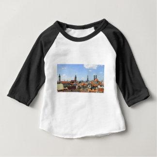 Skyline Münchens Deutschland Baby T-shirt