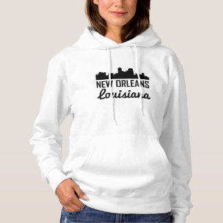 Skyline New Orleans Louisiana Hoodie