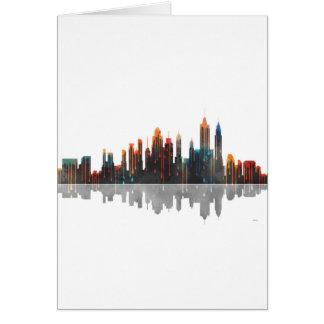 Skyline New York New York Karte