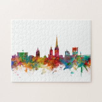 Skyline Norwichs England Jigsaw Puzzle