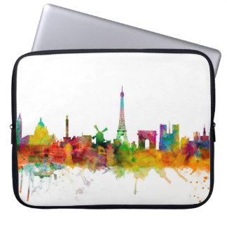 Skyline Paris Frankreich Laptopschutzhülle