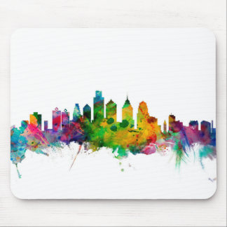 Skyline Philadelphias Pennsylvania Mousepad