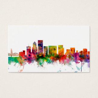 Skyline Portlands Oregon Visitenkarte
