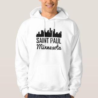 Skyline Saint Paul Minnesota Hoodie