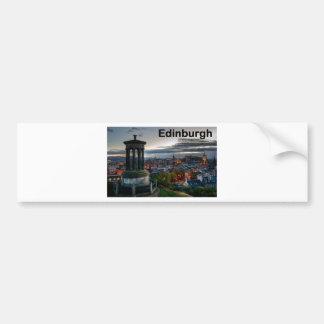 Skyline Schottlands Edinburgh (St.K) Autoaufkleber