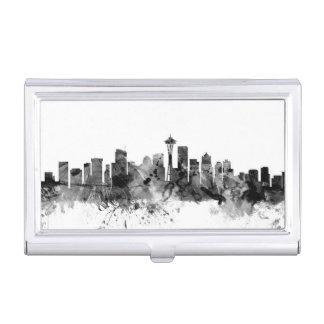 Skyline Seattles Washington Visitenkarten Dose