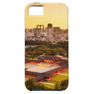 Skyline Seouls Südkorea iPhone 5 Schutzhülle