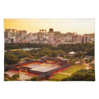 Skyline Seouls Südkorea Tischset