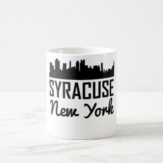 Skyline Syrakus New York Kaffeetasse