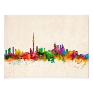 Skyline Torontos Kanada Kunstphoto