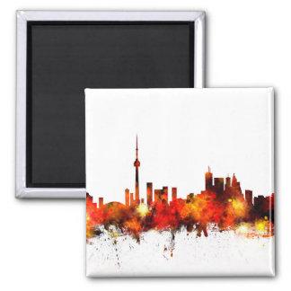 Skyline Torontos Kanada Quadratischer Magnet