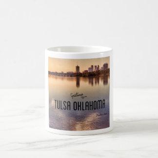 Skyline Tulsas Oklahoma Kaffeetasse