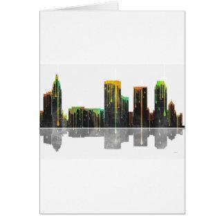 Skyline Tulsas Oklahoma Karte