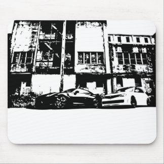 Skyline u. WTI-Mausunterlage Mousepad