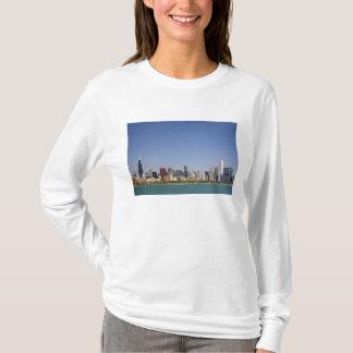 Skyline von Chicago, Illinois, USA T-Shirt