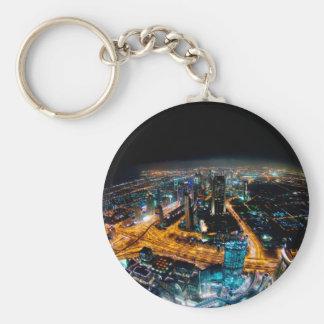 Skyline von Dubai Schlüsselanhänger