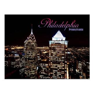 Skyline von Philadelphia, Pennsylvania Postkarten