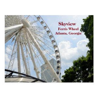 Skyview Riesenrad Atlanta, Georgia Postkarte