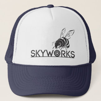 SkyWorks Medium-Labrador-Fernlastfahrer-Hut Truckerkappe