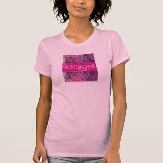 Slackers, Könige u. Rowdy-lila Regen T-Shirt