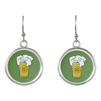 Sláinte! (Gesundheit) glücklichen St Patrick Tag Ohrringe