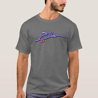 Slalom-Wasserskier-Neon-T - Shirt