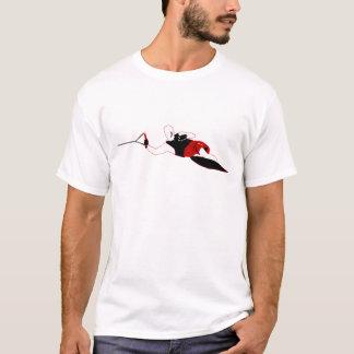 Slalom-Wasserskifahren-T-Stück T-Shirt