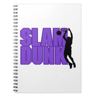 Slam Dunk-Basketball Spiral Notizblock