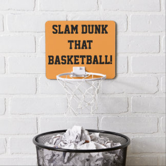 Slam Dunk dieser Mini Basketball Ring