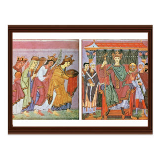 Slavinia Gallia und Germania Rom Lohn-Ehrerbietung Postkarte