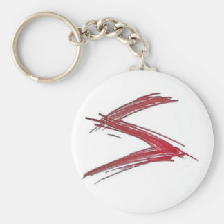 Slayer-Kampf und Leichtathletik Keychain Standard Runder Schlüsselanhänger
