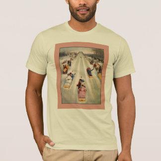 Sledding im Tageslicht T-Shirt