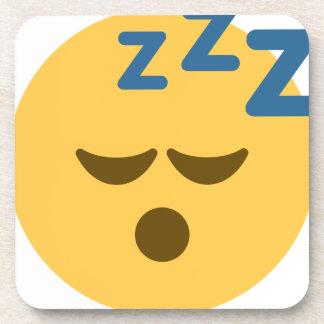 Sleepy Emoji Getränkeuntersetzer