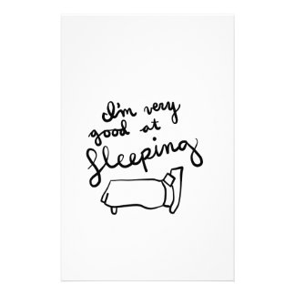 Sleepyhead-Shirts, Zusätze, Geschenke Briefpapier
