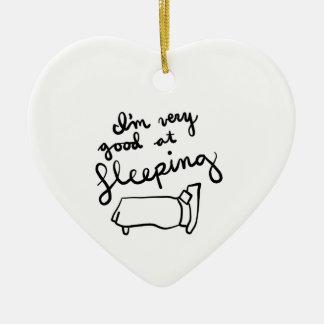 Sleepyhead-Shirts, Zusätze, Geschenke Keramik Ornament