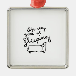 Sleepyhead-Shirts, Zusätze, Geschenke Silbernes Ornament