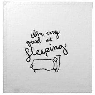 Sleepyhead-Shirts, Zusätze, Geschenke Stoffserviette